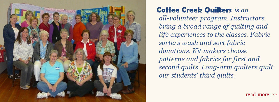 CCQ volunteers