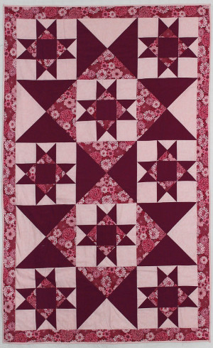 Quilt show at Canby Library