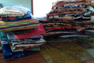 Fabric sale donations