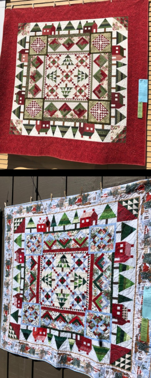Quilting for women in prison | CCQ instructor quilts at